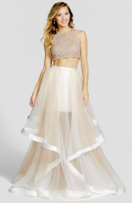 Two Piece Bridal Ensemble
