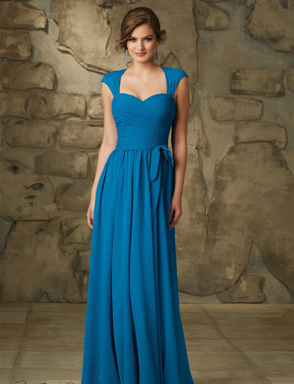 Gorgeous and Timeless:Best Blue Bridesmaid Dresses 2016 - EverAfterGuide