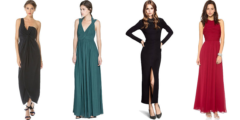 Black tie attire dresses for women