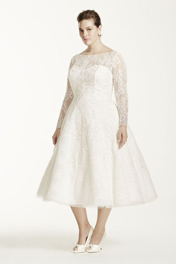19 Plus Size Wedding Dresses-For Our Curvy Girls ...