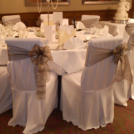 Merveilleux Organza Chair Decorations