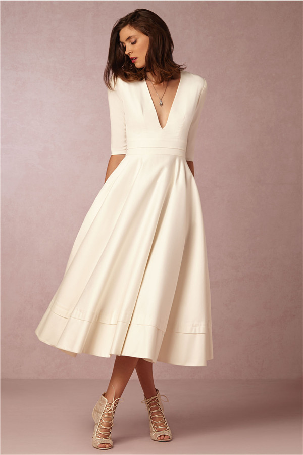 24 Elegantly Tailored Wedding Dresses for Pear Shaped Body ...