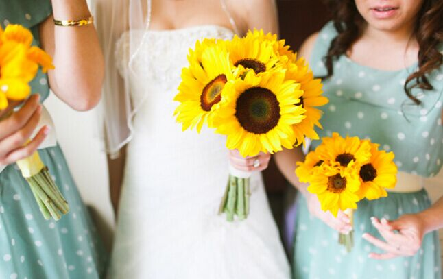 A Sunflower Can Be Used In Event Decoration Solely But It Looks Enchanting When With Other Multicolored Flowers Bouquet Or Table Centerpiece