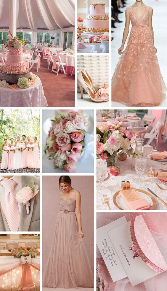 16 most refreshing and trendy spring wedding colors everafterguide 16 most trendy colors for spring wedding in 2016 junglespirit Image collections