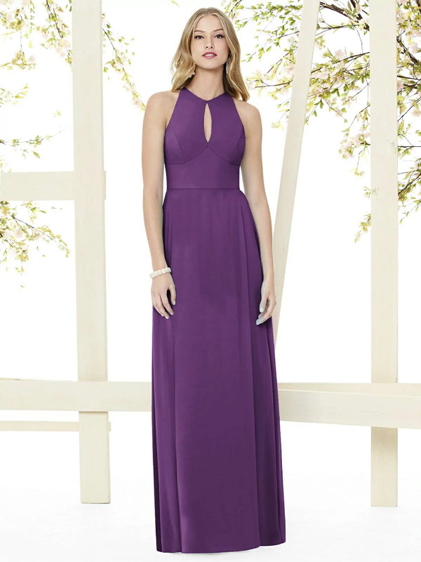 Bridesmaid Dress With Keyhole Design
