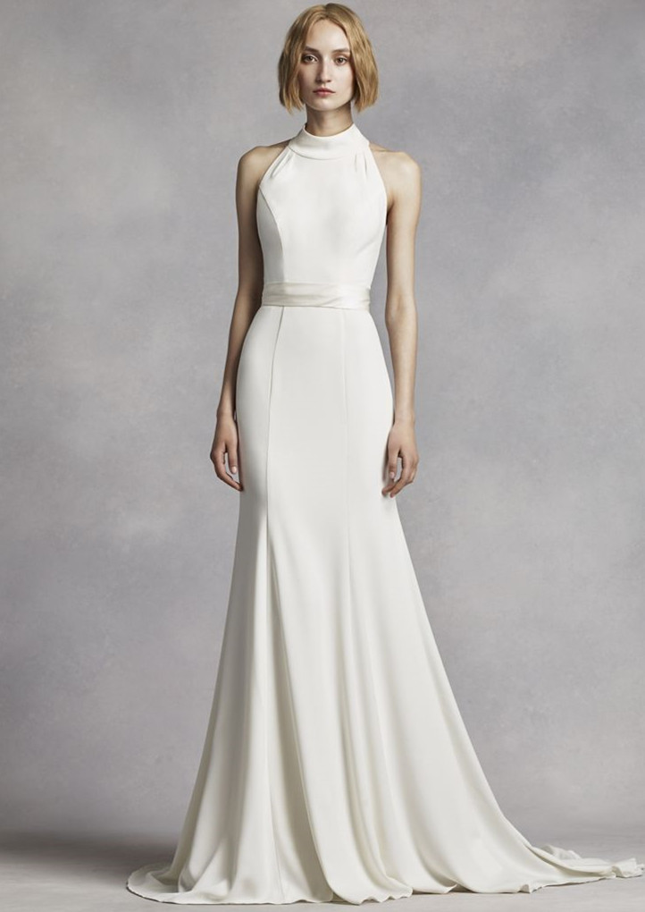25 Most Gorgeous High Neck Wedding Dress