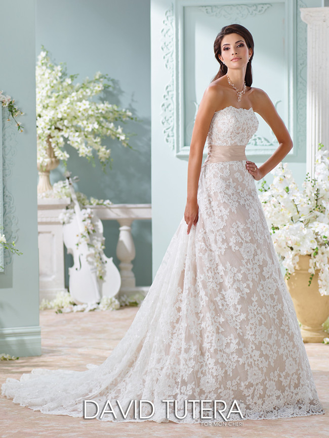 David Tutera For Mon Cheri Style No 116219 Yalene