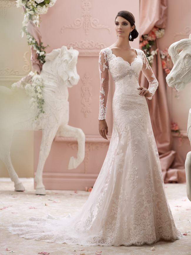 Elegant And Au Courant 20 Long Sleeve Wedding Dresses Of 2016