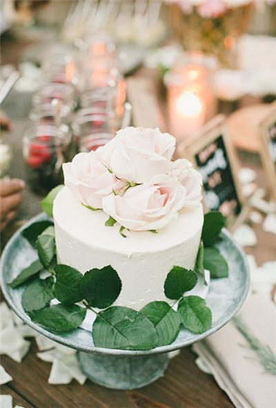 Decorating A Single Layer Cake