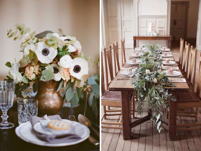 12 Perfect Combinations For Color Schemes For Fall Weddings
