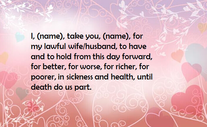 Are There Any Other Acceptable Vows