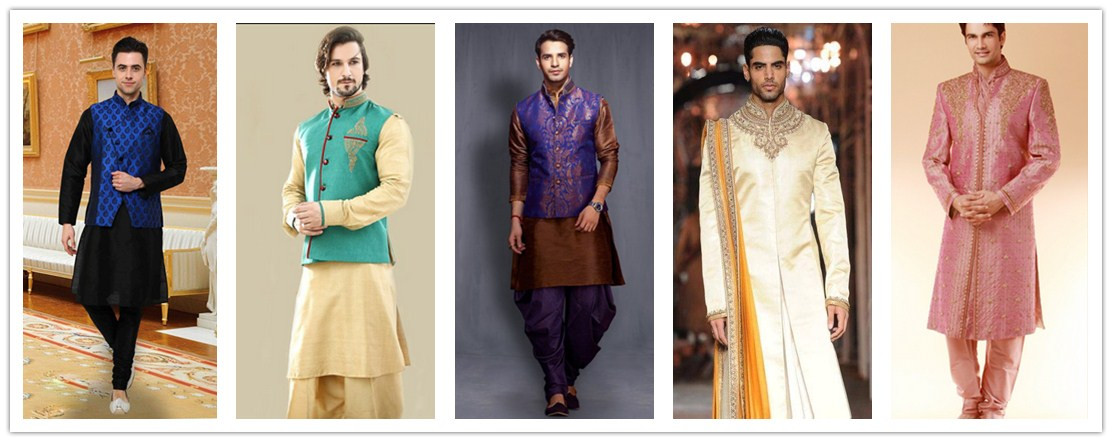 Dress wear in wedding