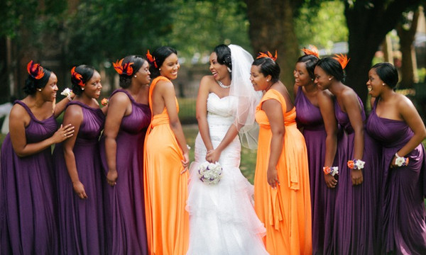 20 Orange and Purple Wedding Ideas - EverAfterGuide