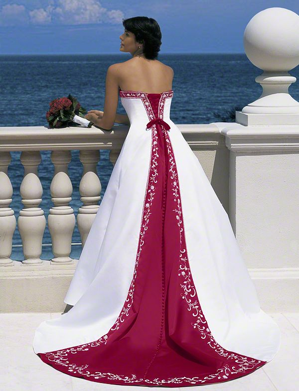 Add Some Color: 19 Stunning Colored Wedding Dresses - EverAfterGuide
