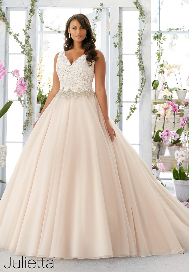 Bright colored wedding dresses