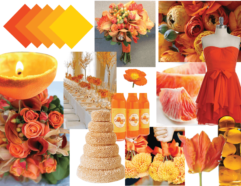 15 stunning summer wedding colors for a memorable big day 15 stunning summer wedding colors junglespirit Image collections