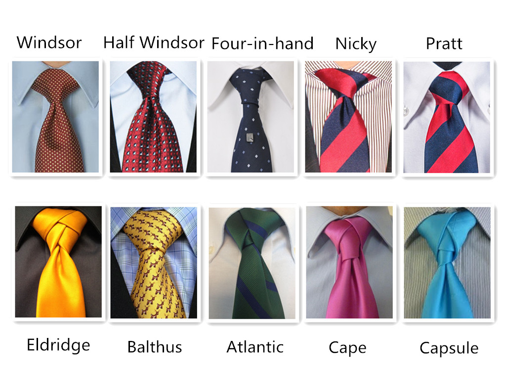 Different Types of Knot Ties