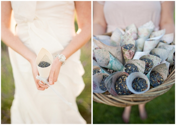 What to Throw at Weddings Instead of Rice - EverAfterGuide