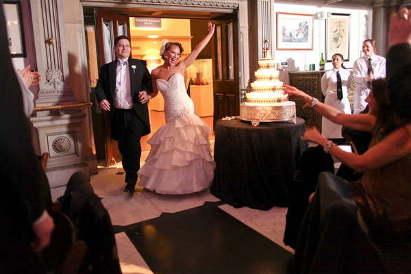 Fresh And Exciting Ideas For Entering Your Wedding Reception