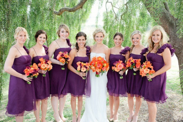 20 Orange And Purple Wedding Ideas Everafterguide