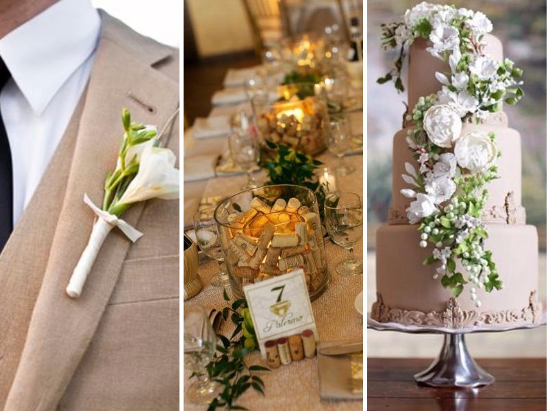 12 Perfect Combinations for Color Schemes for Fall Weddings ...
