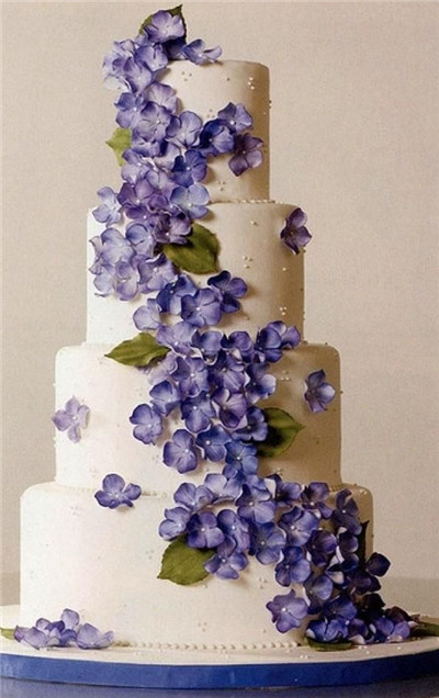 35 Most Stunning Flowery Wedding Cakes For A Dream
