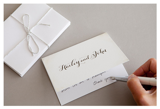 When To Send The Wedding Thank You Card