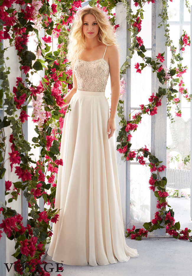 Mori Lee Wedding Dress 6821