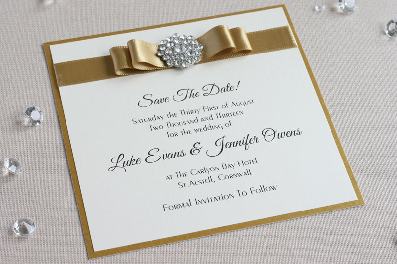 Ways To Save On Wedding Invitations: What To Include On A Save The Date