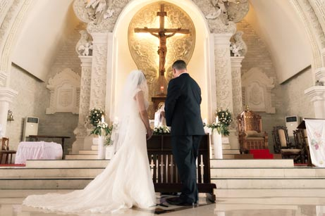 catholic full mass wedding program everafterguide