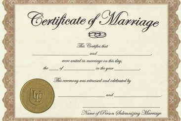 Marriage License Faqs How To Get A M