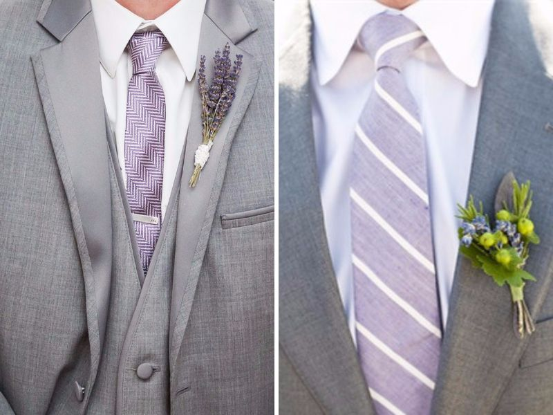 Grace and Class: 17 Smart Ideas of Lavender and Grey Wedding Colors ...