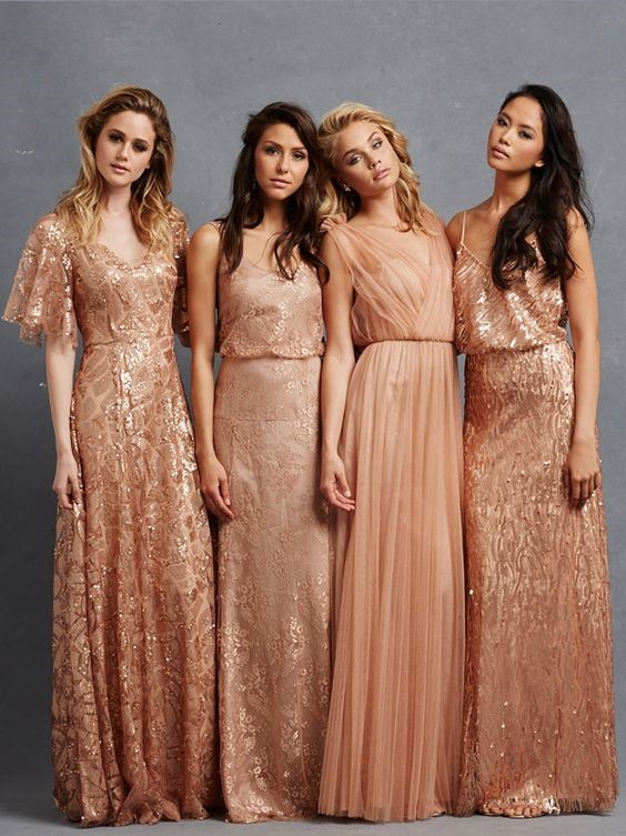 Best Mismatched Combinations For Your Bridesmaids
