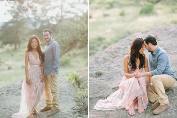 what to wear in engagement shoot