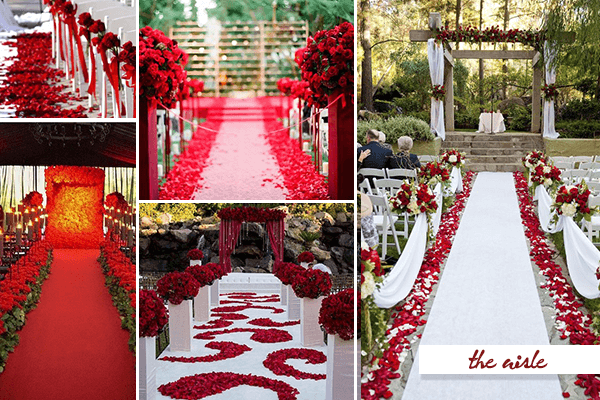 Passion and Love: 20 Fabulous Red and White Wedding Ideas ...