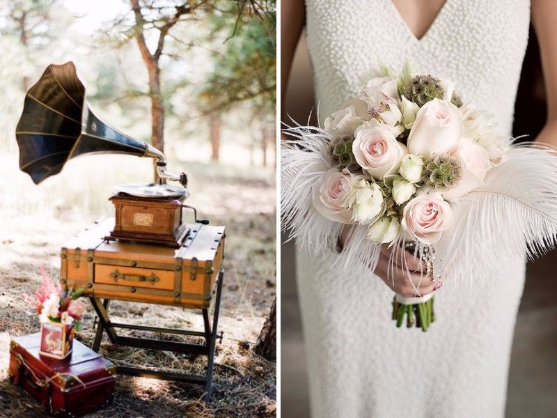 1910s To 1980s Vintage Wedding Themes By Decade Everafterguide
