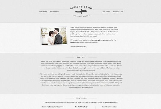 Wedding Websites Ideas: 25 Most Creative And Wonderful Wedding Website Ideas