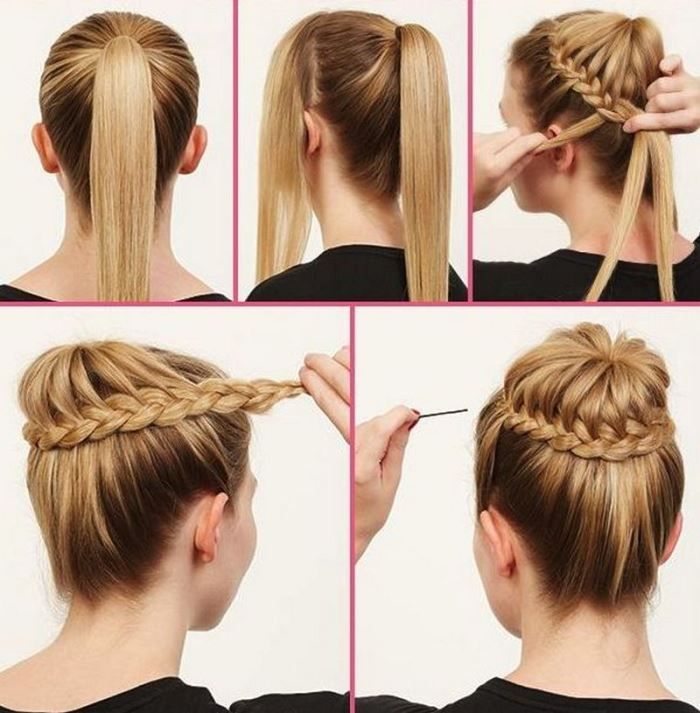 Hair Style Step By Step Stunning Bun Hairstyles For Your Wedding Day With Detailed Steps And .
