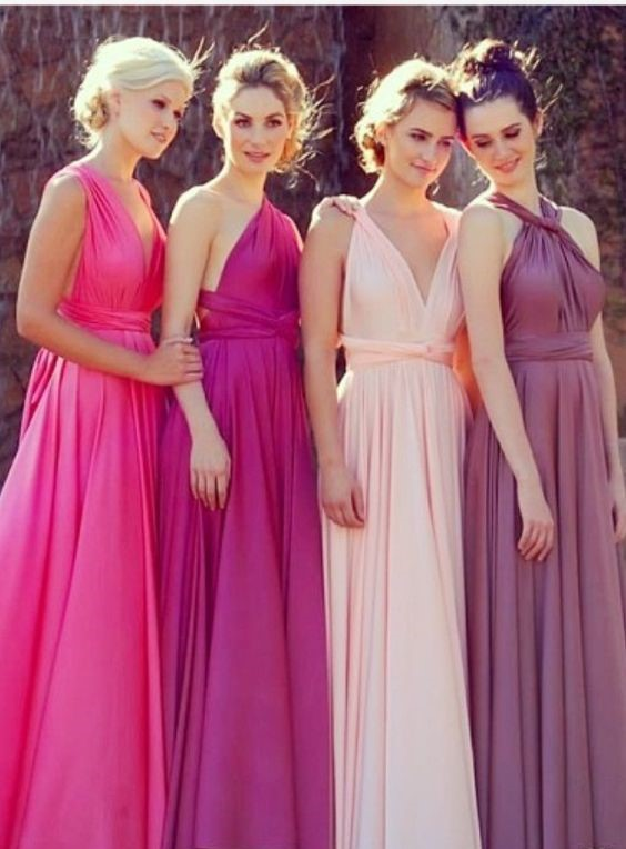 d8a08b87da99 Mismatched Bridesmaid Dresses: Style Tips and 10 Best Combinations ...