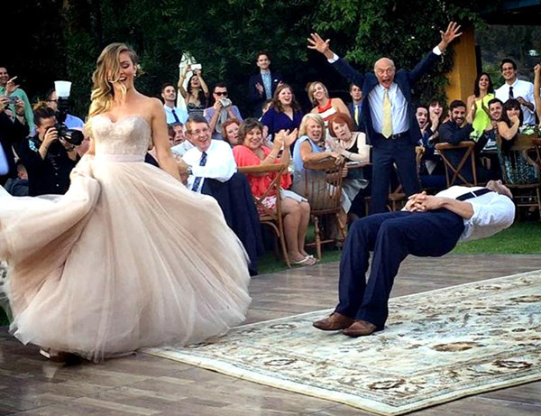Other Guests Might Not Be Able To Witness Your First Dance Since Getting Food At Buffet Tables Is Traditionally Done By Turns