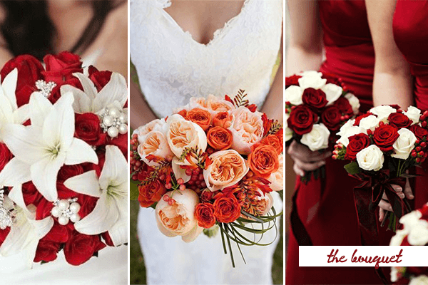 Pion And Love 20 Fabulous Red White Wedding Ideas Everafterguide