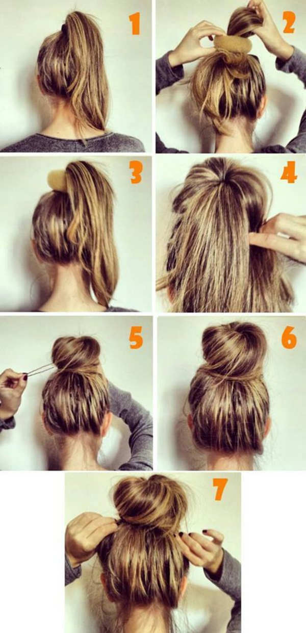 Bun Hairstyles for Your Wedding Day with Detailed Steps and ...