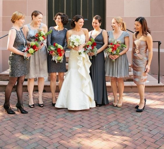 04cec48532 Mismatched Bridesmaid Dresses  Style Tips and 10 Best Combinations ...