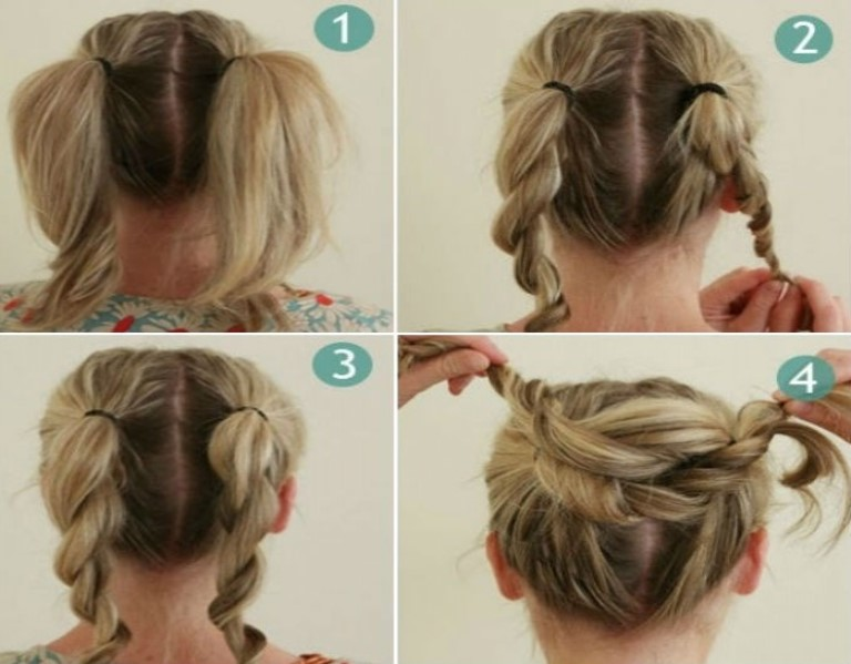 15 Wedding Hairstyles For Long Hair That Steal The Show: Bun Hairstyles Step By Instructions
