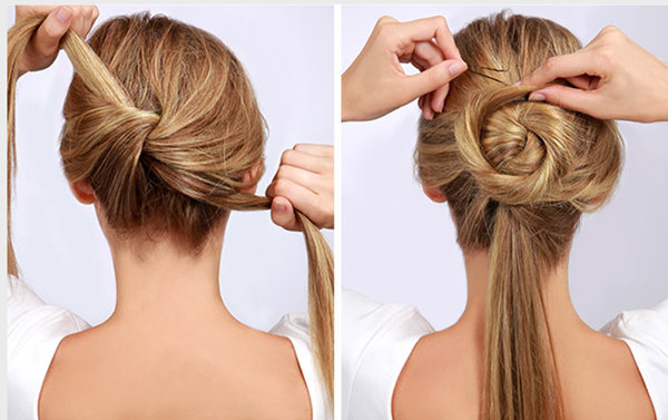 10 Easy Wedding Updo Hairstyles With Steps Everafterguide