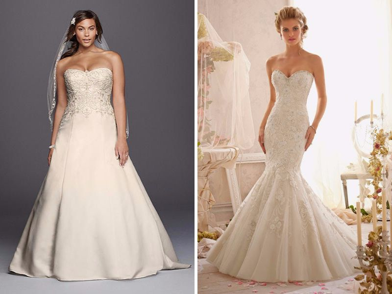 Determine The Basic Shape Of Your Dress