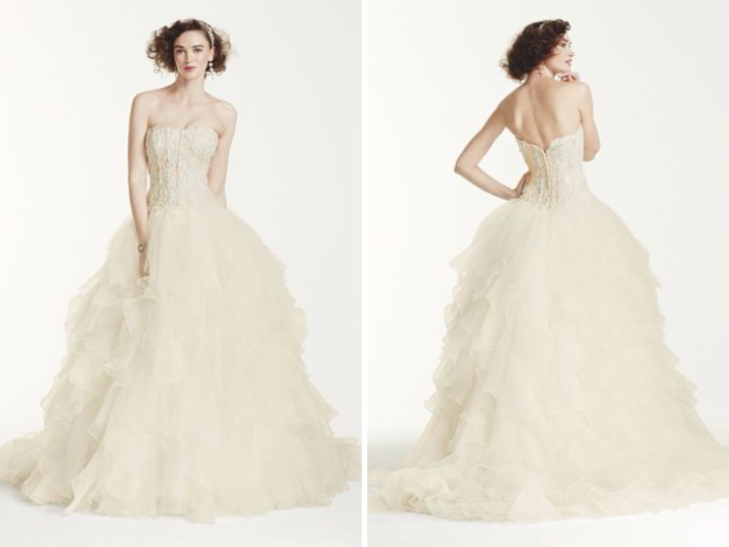 20 Gorgeous Second Wedding Dresses You Will Like - EverAfterGuide