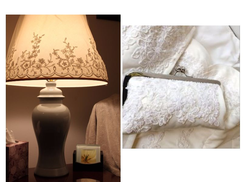 Art And Décor Another Creative Way To Reuse Wedding Dress