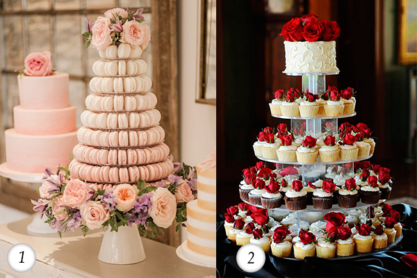Romantically gorgeous top wedding anniversary cakes