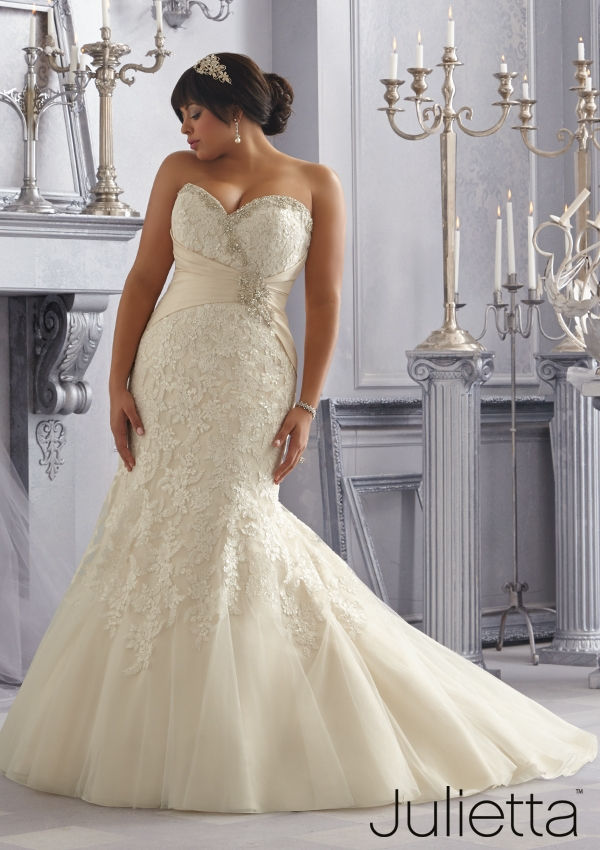 25 Best Curvy Wedding Dresses for Plus-Size Brides ...